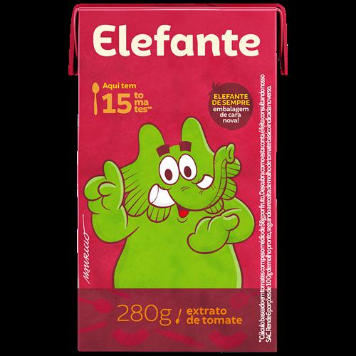 EXTRATO ELEFANTE TETRA 280G