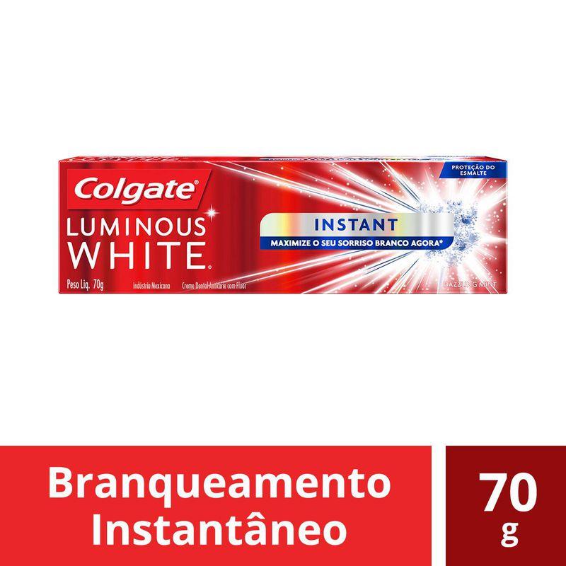 CR DENTAL COLGATE LUMINOUS WHIT INST 70G