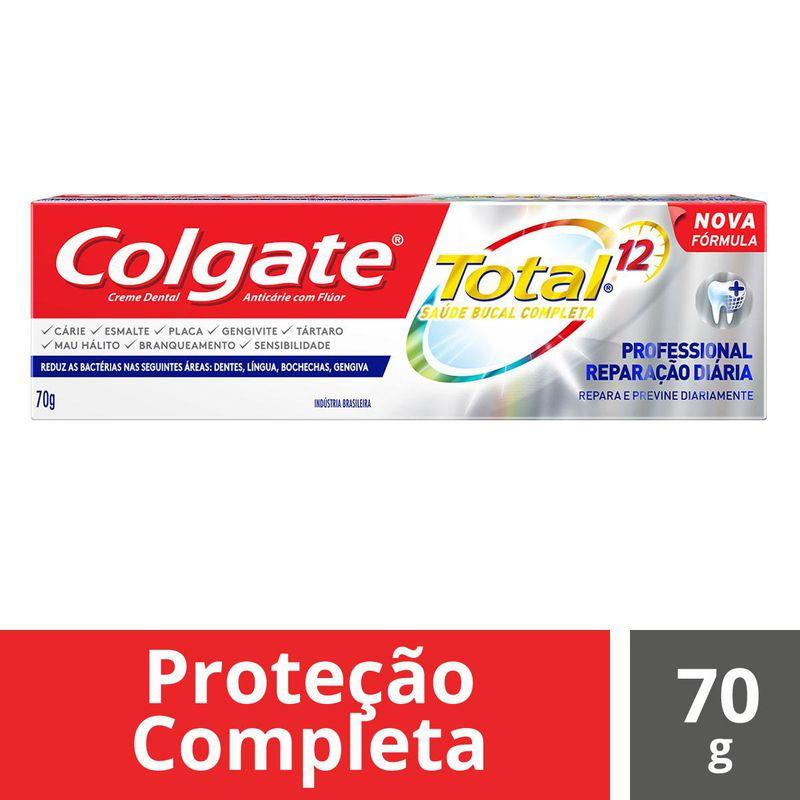 CR DENTAL COLGATE TOT 12 PROF R DIA  70G