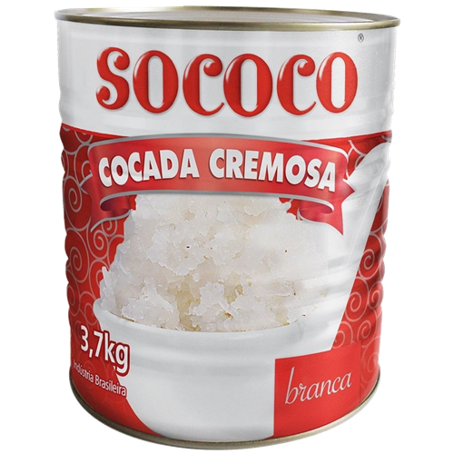 DOCE DE COCO BRANCO SOCOCO 3,7KG