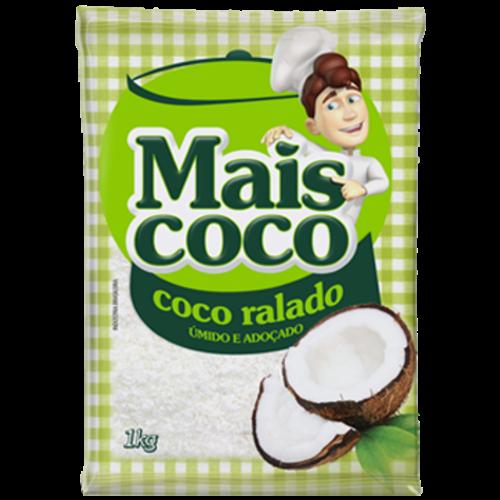 COCO RALADO MAIS COCO UMIDO ADOCADO 1KG