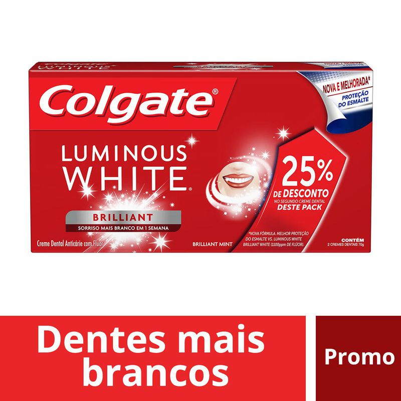 CR DENTAL COLG LUMIN WHI BEAUT 2PACK 70G
