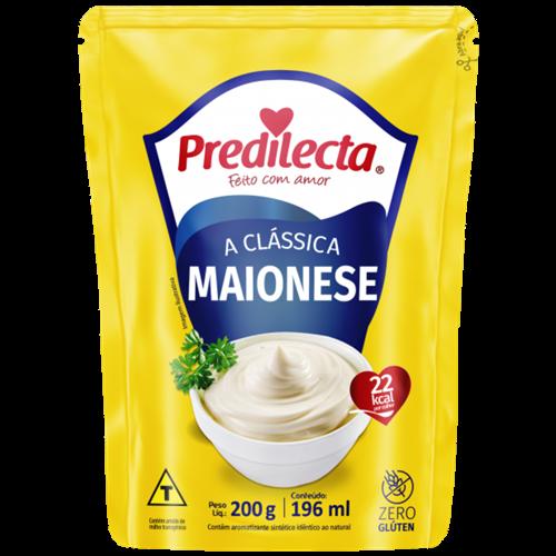 MAIONESE PREDILECTA TRAD SACHE 200G