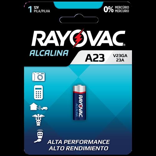 PILHA RAYOVAC ELET ALCALINA V23GA CX/1