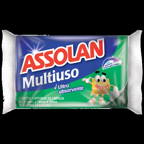 ESPONJA DUPLA FACE ASSOLAN M USO C/1UN