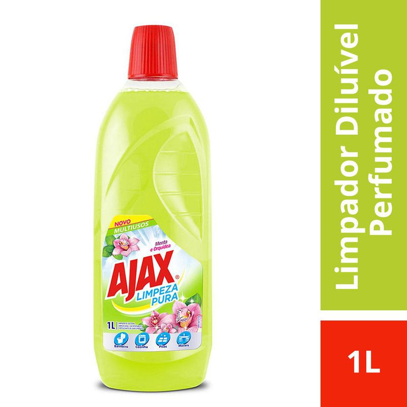AJAX MENTA E ORQUIDEA 1000ML