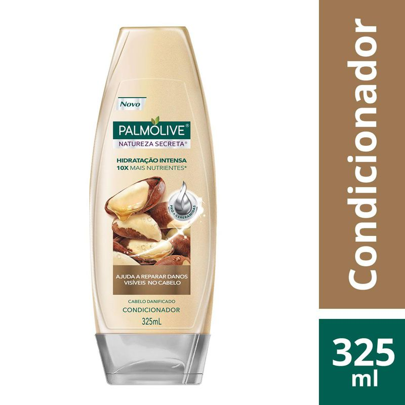 COND PALM.NAT SECRETA CASTANHA 325ML