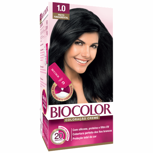 BIOCOLOR MINI PRETO FUNDAMENTAL 1.0