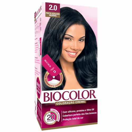 BIOCOLOR MINI PRETO AZUL INCRIVEL 2.0