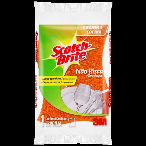 ESPONJA SCOTCH BRITE NÃO RISCA UNITÁRIA