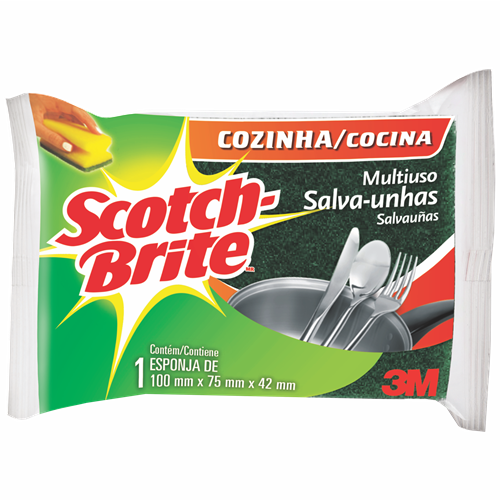 ESPONJA SCOTCH BRITE M USO S UNHAS UNIT