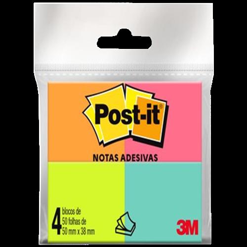 POST-IT 653 TROPICAL 3M C/50 FOLHAS