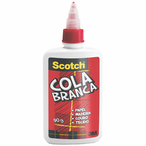 COLA SCOTCH BRANCA 90G
