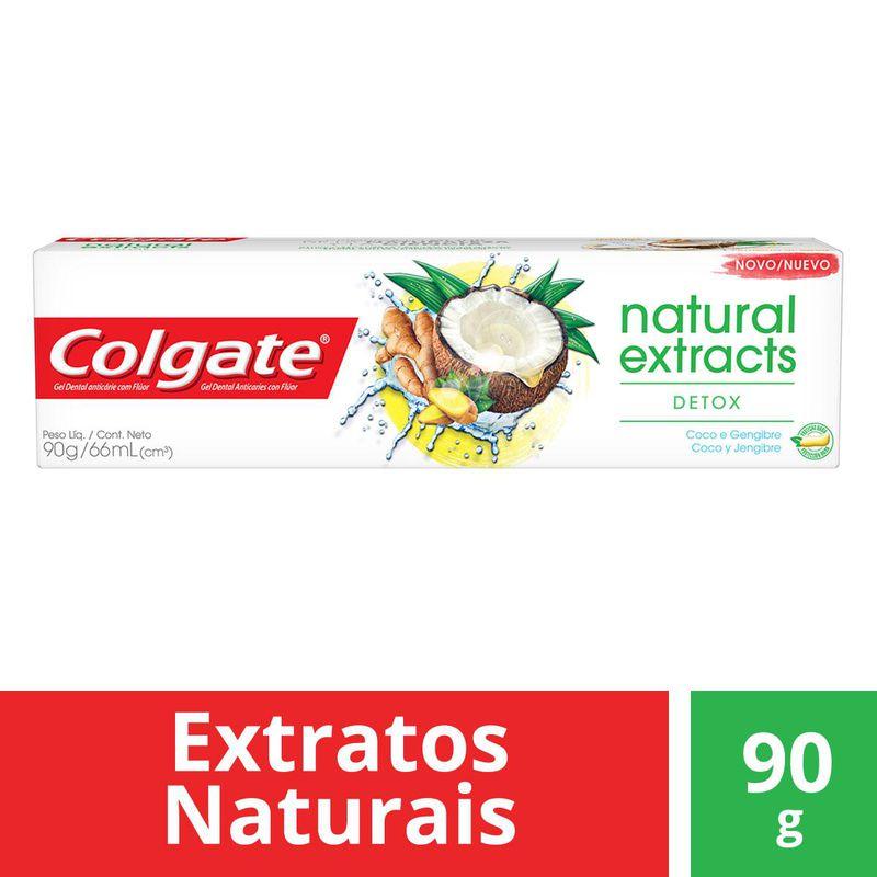 CR DENTAL COLGATE NATUR DETOX 90G