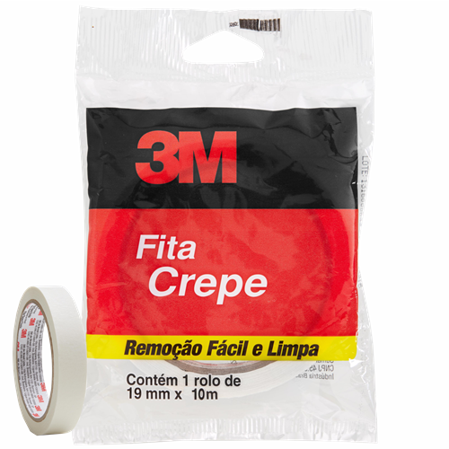 FITA CREPE RL SCOTCH 12MMX10M FLOW PACK