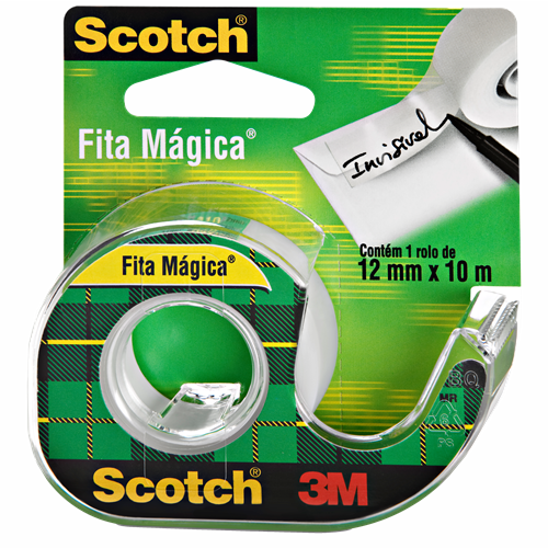 FITA ADESIVA MAGIC C/SUP SCOTCH 12MMX10M
