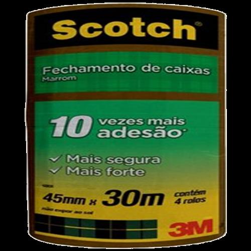 FITA FECHAMENTO CX SCOTCH C/ 4 45MMX30M