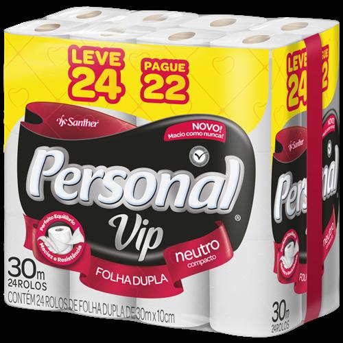 PAPEL HIG PERSONAL FD 16X30M VIP L24P22