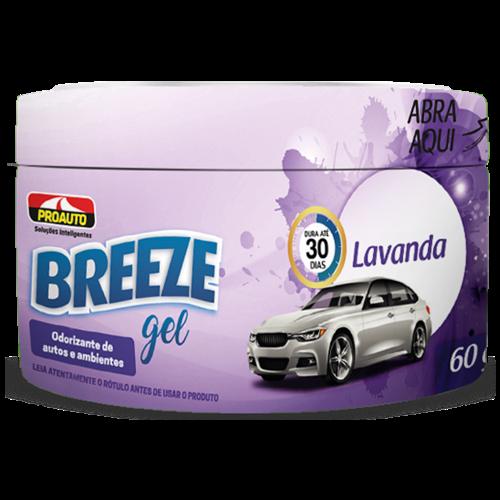 ODORIZANTE GEL BREEZE LAVANDA 60G
