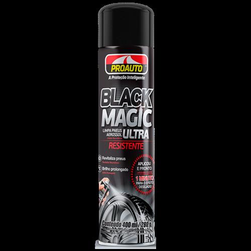 LIMPA PNEUS BLACK MAGIC PROAUTO 400ML