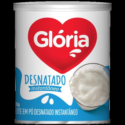 LEITE PO DESNATADO GLORIA LATA 300G