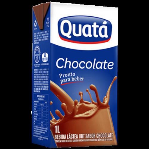 BEBIDA LACTEA QUATA CHOCOLATE TP 1LT