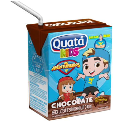 BEBIDA LACTEA QUATA CHOCOLATE TP 200ML