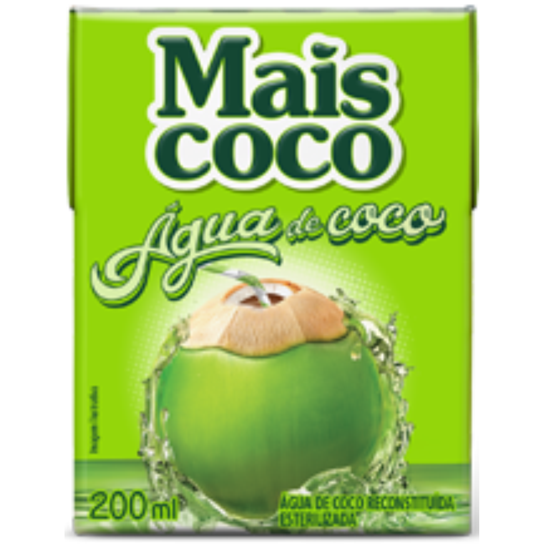AGUA DE COCO MAIS COCO TP 200ML