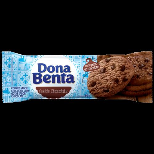 BISC. COOKIE DONA BENTA CHOCOLATE 60G