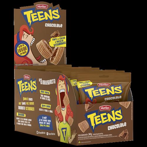 BISC MARILAN TEENS CHOCOLATE DISPLAY 30G