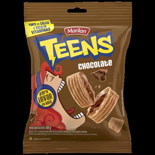 BISC MARILAN TEENS CHOCOLATE 80G