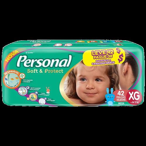 FRALDA PERSONAL BABY MEGA EG L42PG38