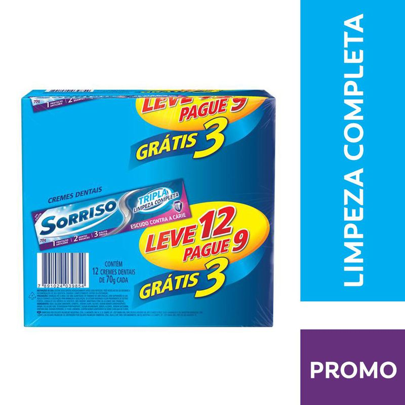 PRO CD SORRISO TP LIMP COMP 70G LV12PG9