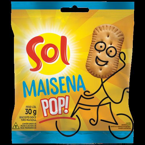 BISCOITO MINI MAISENA SOL 10X30G