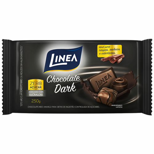 CHOCOLATE LINEA CULIN DARKLINEA 250G