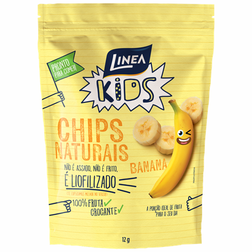 CHIPS NATURAIS  BANANA LINEA 12G