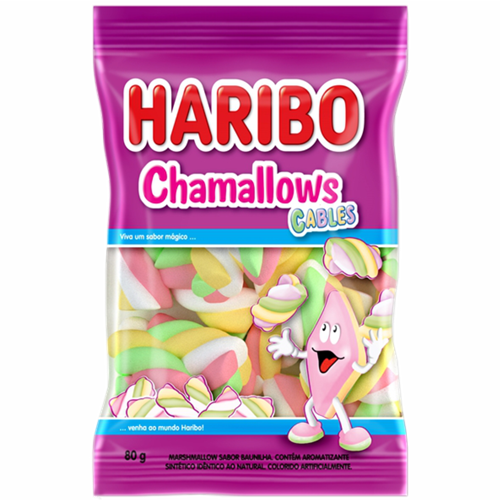 MARSHMALLOW HARIBO CABLE 80G