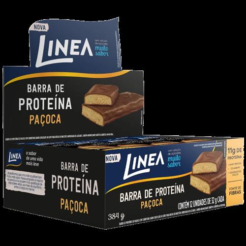 BARRA LINEA PROTEINA PAÇOCA 12X32G