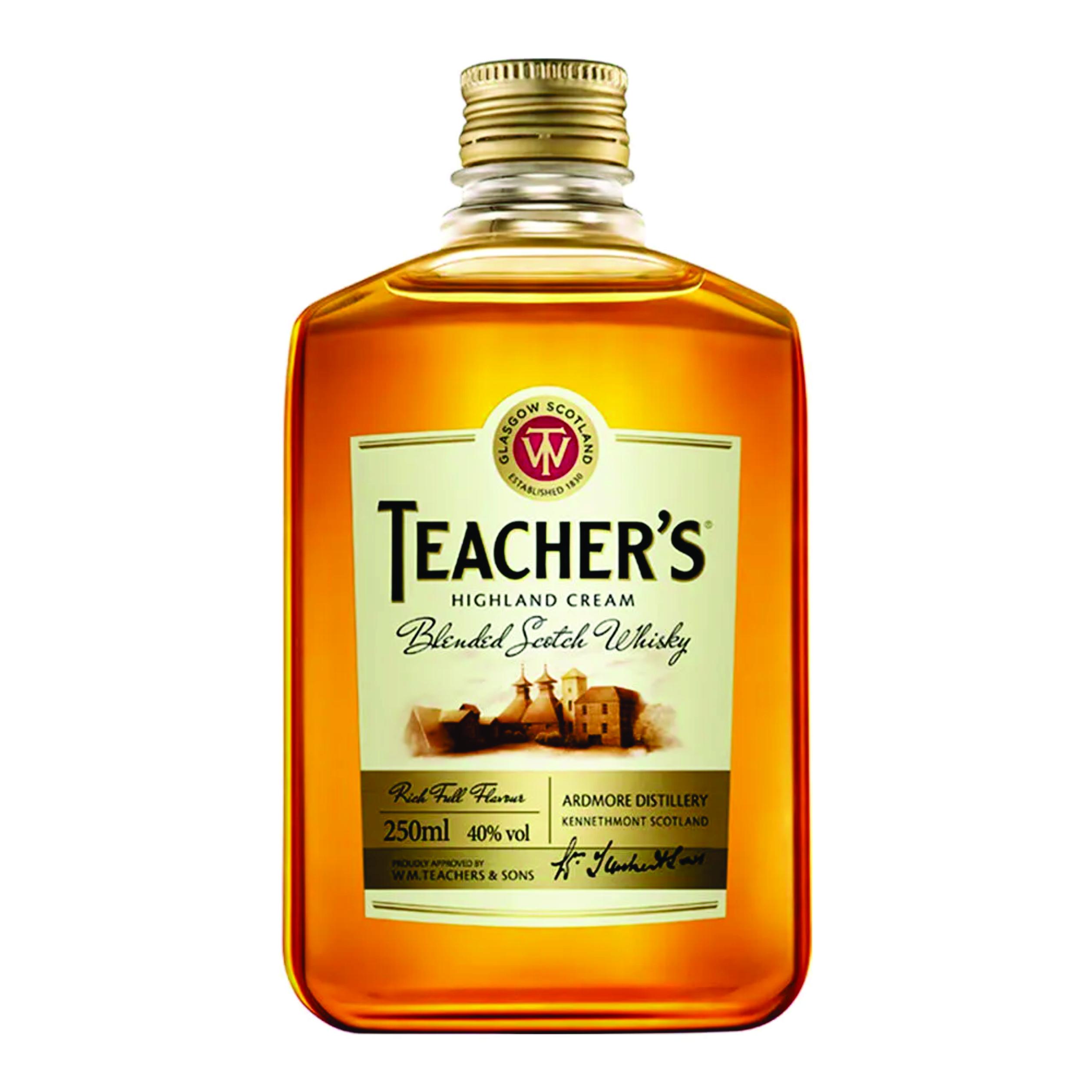 WHISKY TEACHER 250ML
