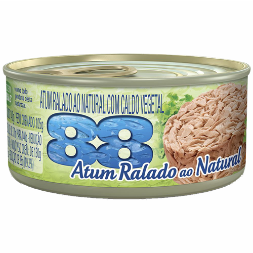 ATUM 88 SOLIDO NATURAL 140G REF 3168