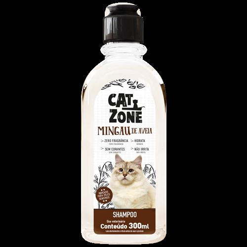 SHAMPOO MINGAU AVEIA CAT ZONE 300ML