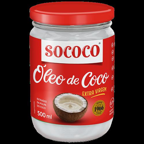 OLEO DE COCO SOCOCO EXTRA VIRGEM 500ML