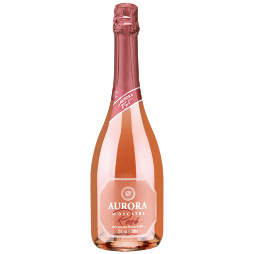 ESPUMANTE AURORA ROSE MOSCATEL 750ML