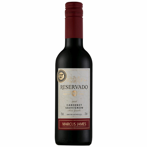 VINHO TINTO M JAMES CABERNET SAUVI 375ML