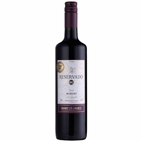 VINHO TINTO M JAMES MERLOT 750ML