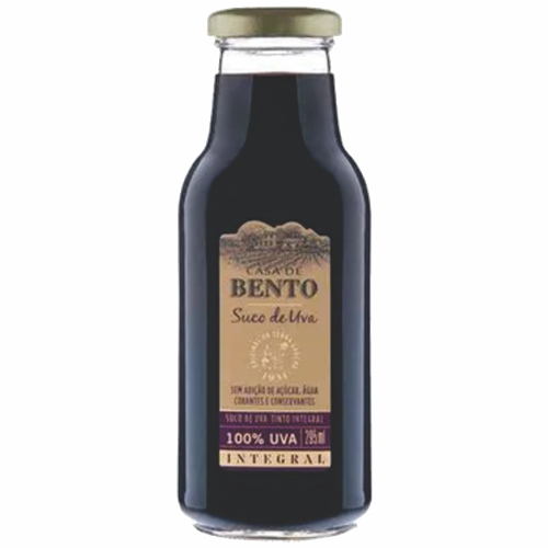 SUCO UVA CASA DE BENTO NATURAL 295ML