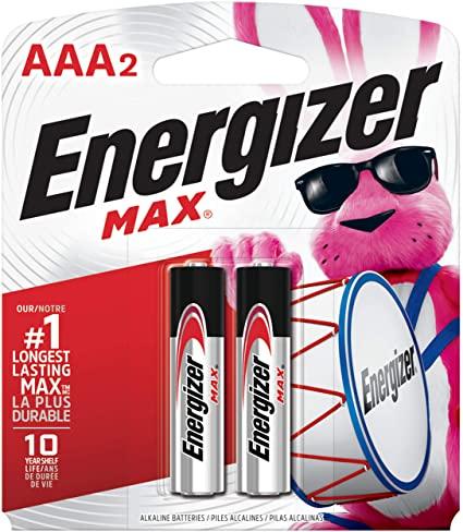 PILHA ENERGIZER MAX-SM-PALITO AAA2 C/2