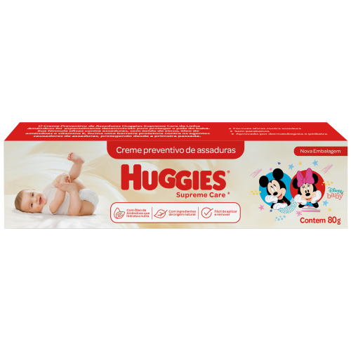 CREME DE ASSADURAS HUGGIES SUPR CARE 80G