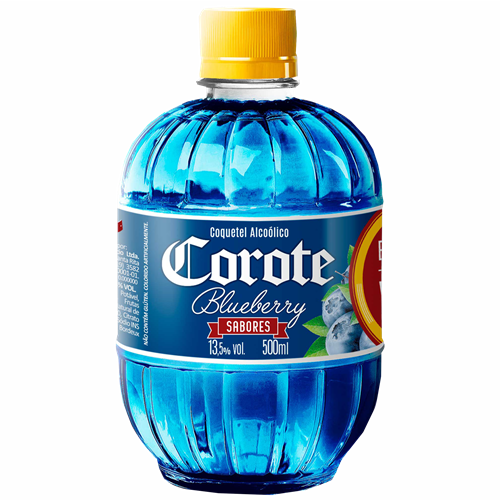 COQUETEL COROTE BLUEBERRY 500 ML PET