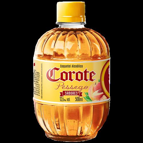 COQUETEL COROTE PESSEGO 500 ML PET